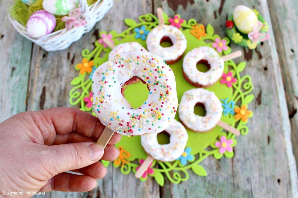 ciaramicola donut, rivisitazione della ricetta umbra