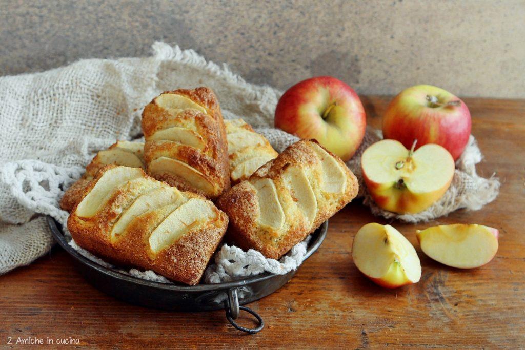 Plumcake alle mele e cocco con farina di fonio