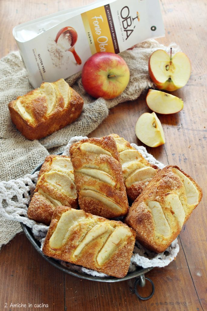 dolcetti per la colazione senza glutine con mele fonio