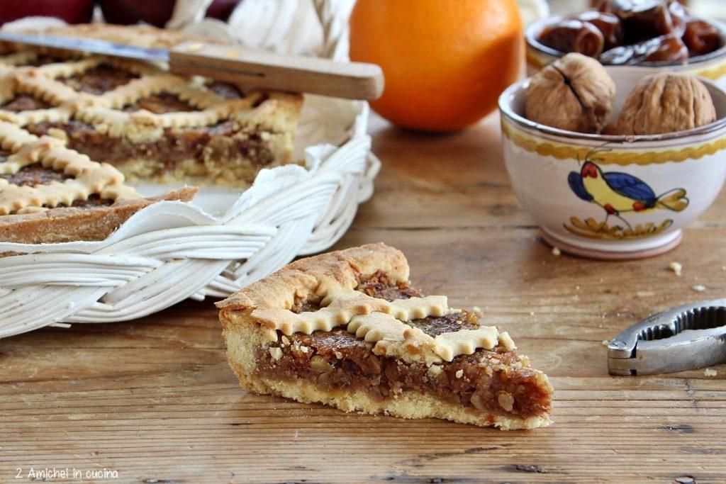 crostata farcita con charoset turco