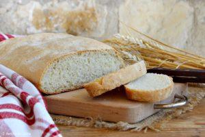 Pane umbro senza sale - pane sciapo