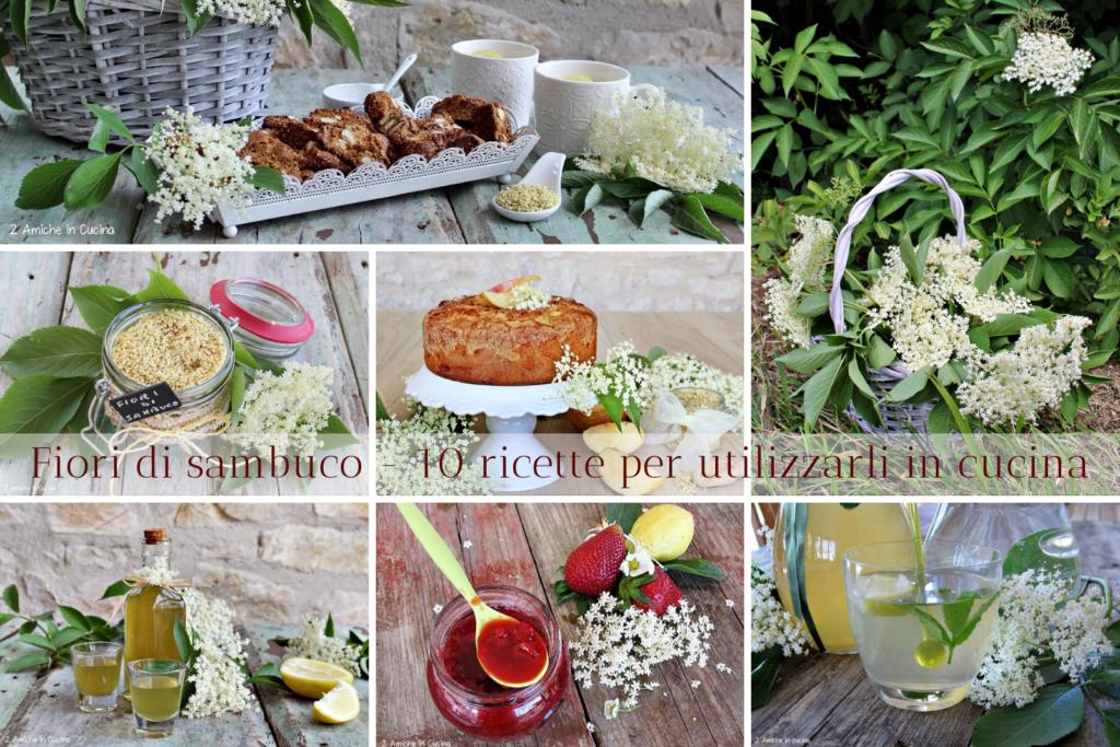 Fiori di sambuco – 10 ricette per utilizzarli in cucina