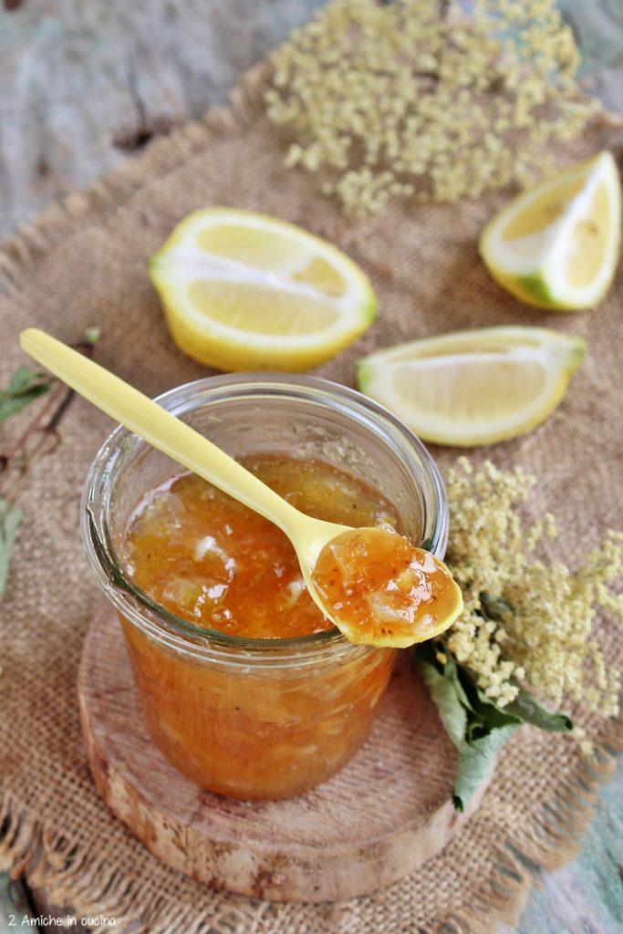 Marmellata di limone e sambuco