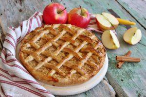 Torta di mele peruviana - Pie de manzana