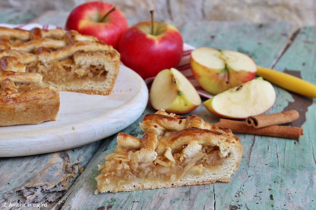 fetta di torta alle mele peruviana