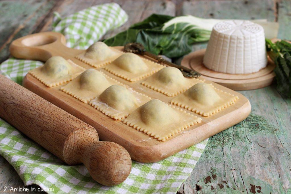 Tortelli di erbette, pasta ripiena tipica di Parma