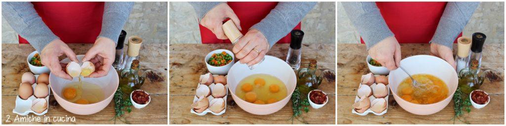 Preparare un rotolo frittata in maniera semplice e veloce