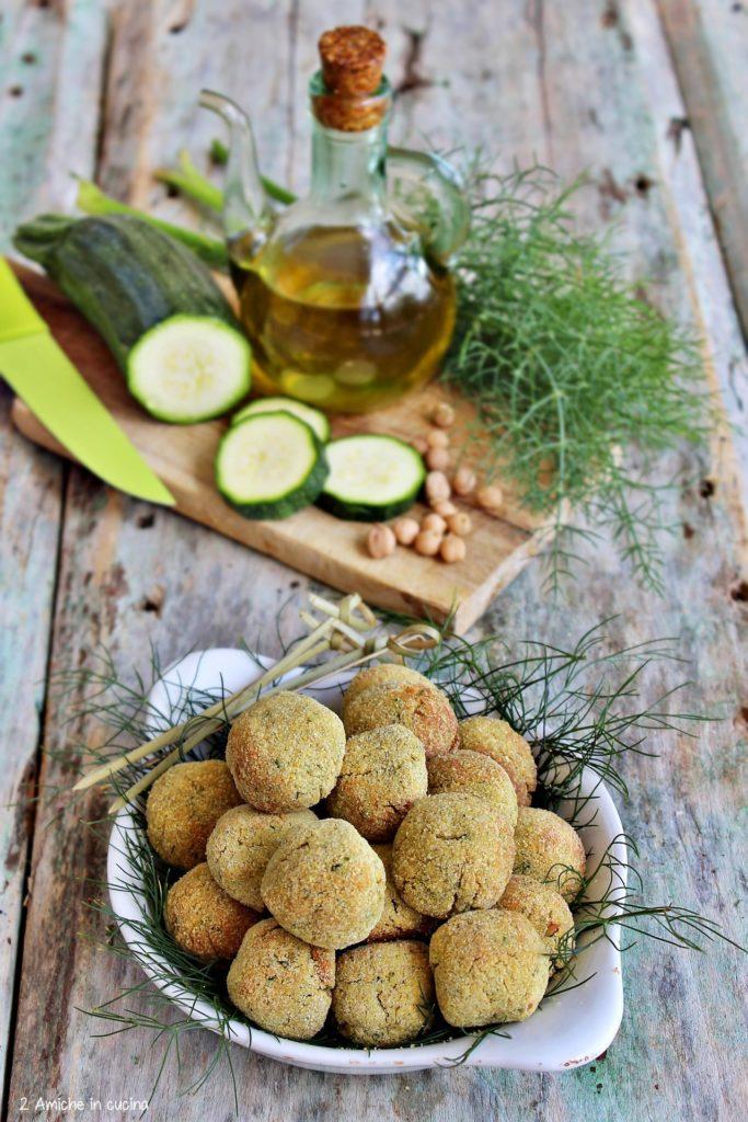 Polpette vegetali senza glutine e senza lattosio