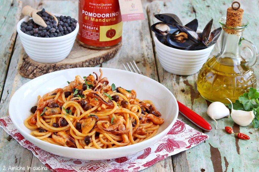 Spaghetti al pomodorino di Manduria