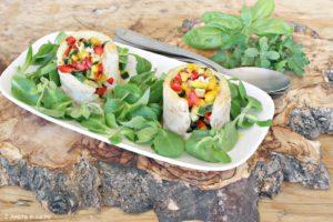 Pesce persico con verdure estive, ricetta light
