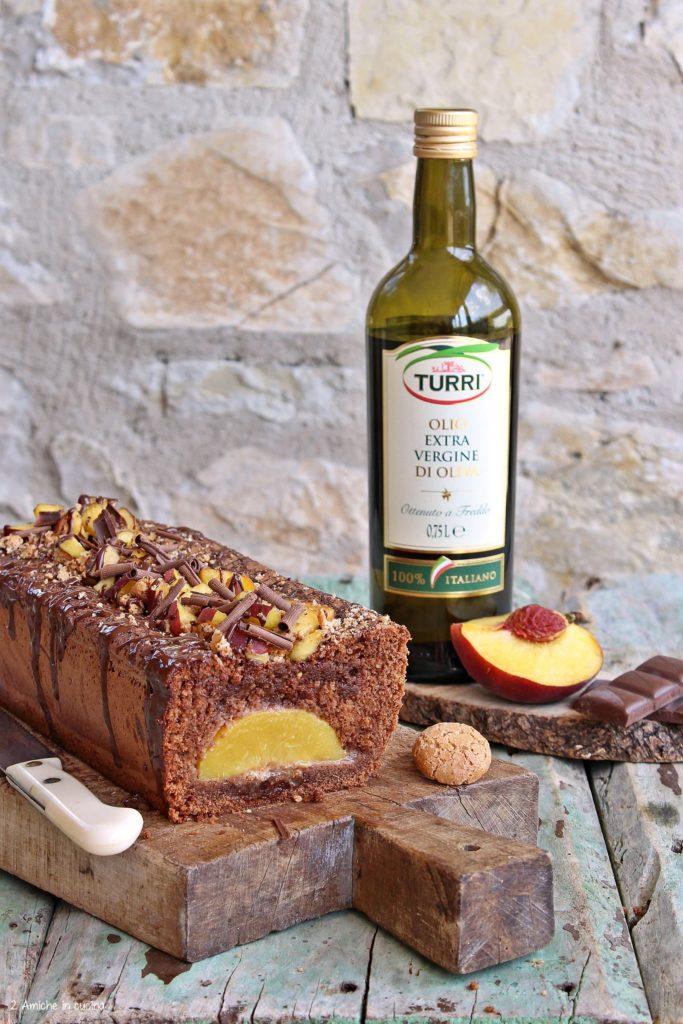 Plumcake all'olio extra vergine di oliva Turri e cioccolato