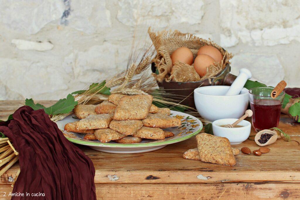 Mostaccioli di San Francesco,   i biscotti di frate Jacopa
