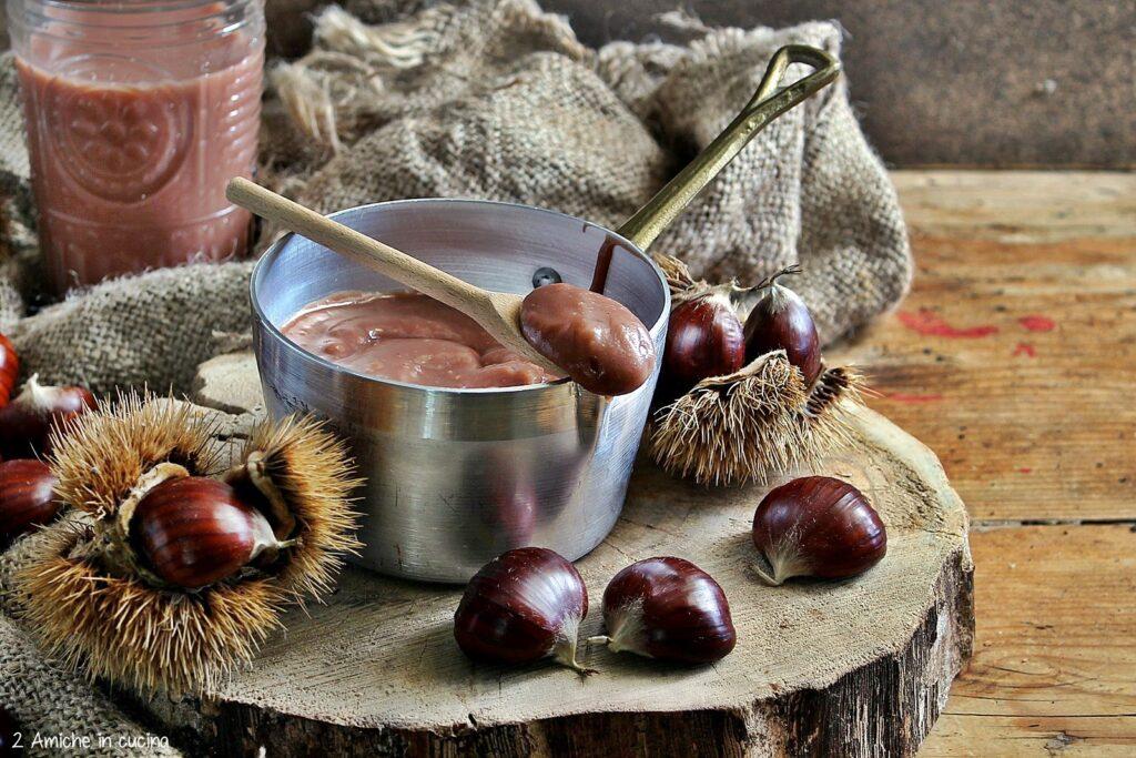 Crema spalmabile alle castagne, vegan e senza glutine