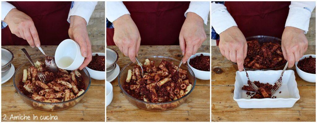 Come condire la pasta dolce con la mollicata