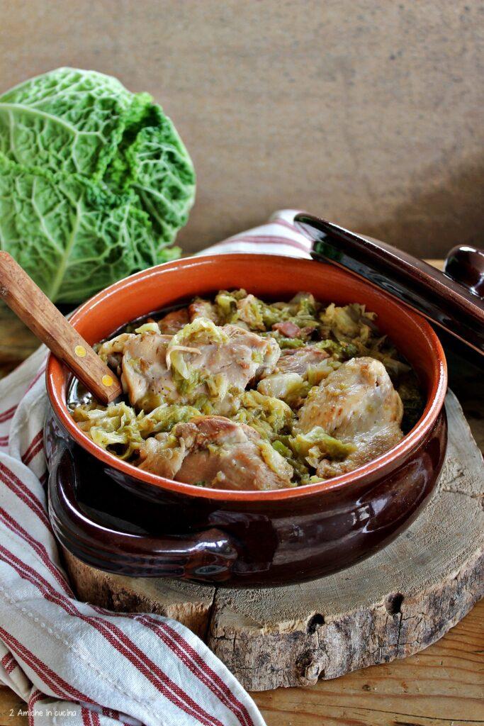 Oca e verza, ricetta lombarda per San Martino
