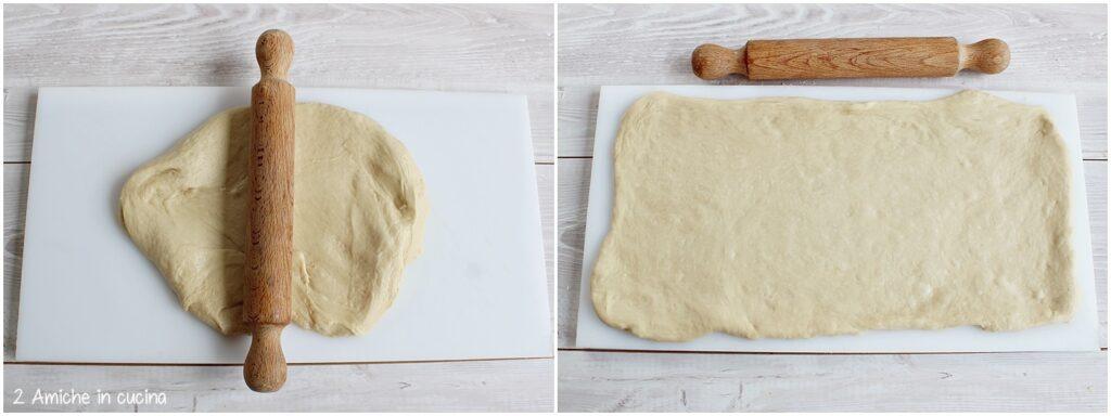 Come stendere la pasta lievitata per il pao de maca