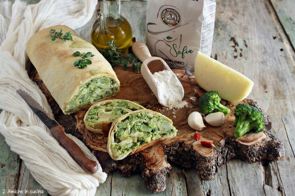 Rustico con broccoli e formaggi con LeDivine Dalla Giovanna