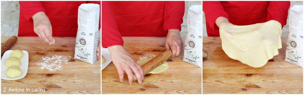 Pasta matta per strudel con farina Anna di Molino Dallagiovanna