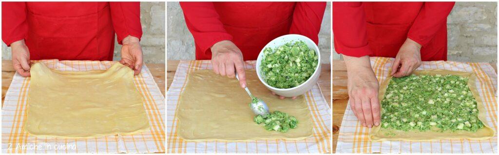 Come farcire uno strudel salato