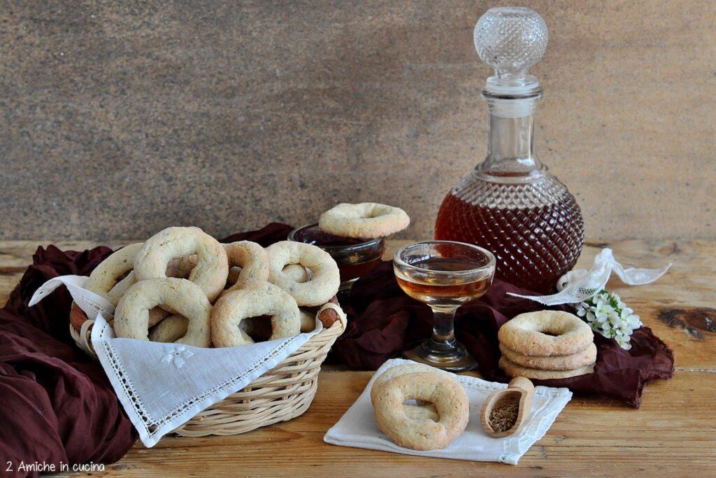 Ciambelline all'anice, ricetta tipica di Todi