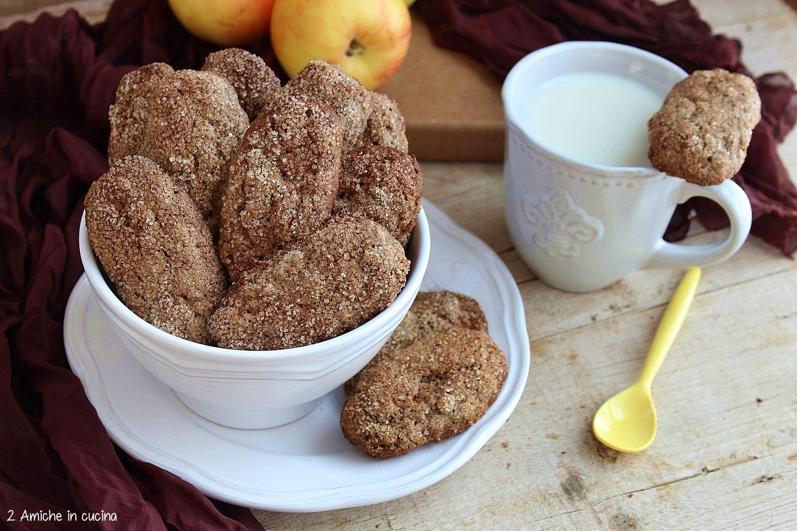 Biscotti facili senza glutine e senza lattosio
