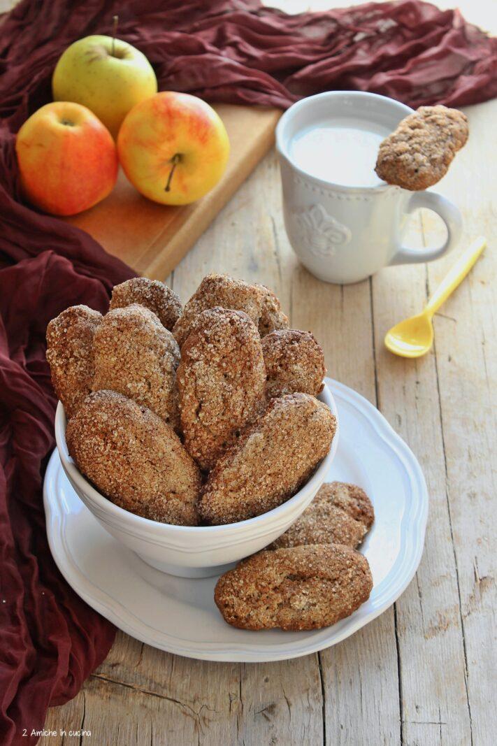 Biscotti al grano saraceno e mela