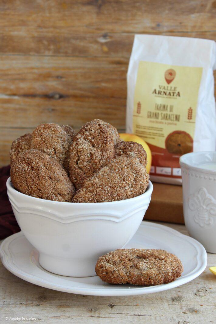 Biscotti con farina di grano saraceno di Valle Arnata- Umbria