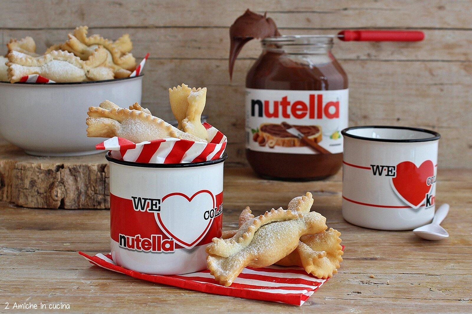 Caramelle fritte farcite di Nutella