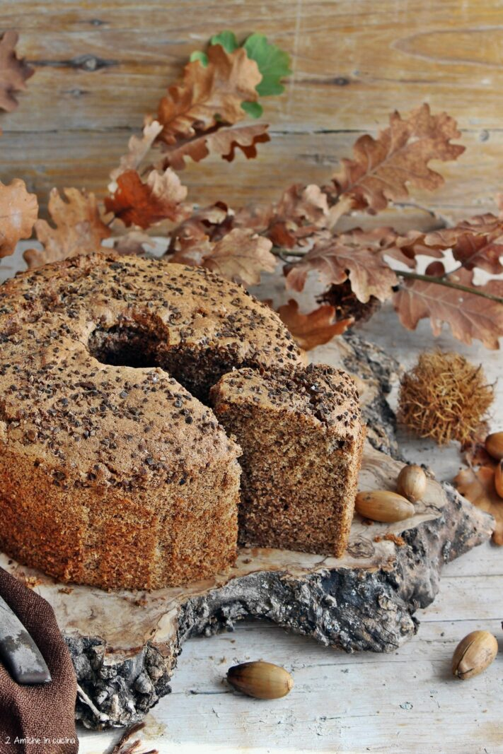 Chiffon cake alle ghiande