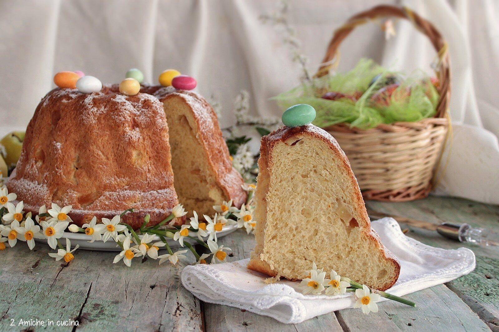 Dolce di Pasqua con le mele, ricetta della Polonia