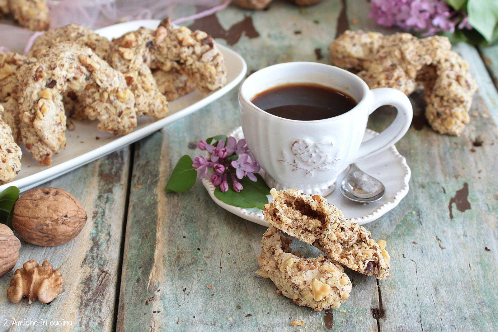 Biscotti orasnice bosniaci senza glutine e senza lattosio