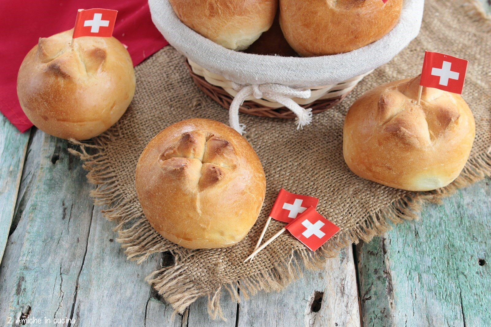 pane per la festa nazionale svizzera