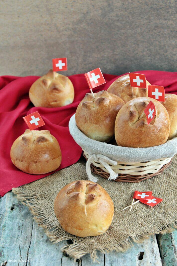 Panini per la festa nazionale svizzera del 1° agosto