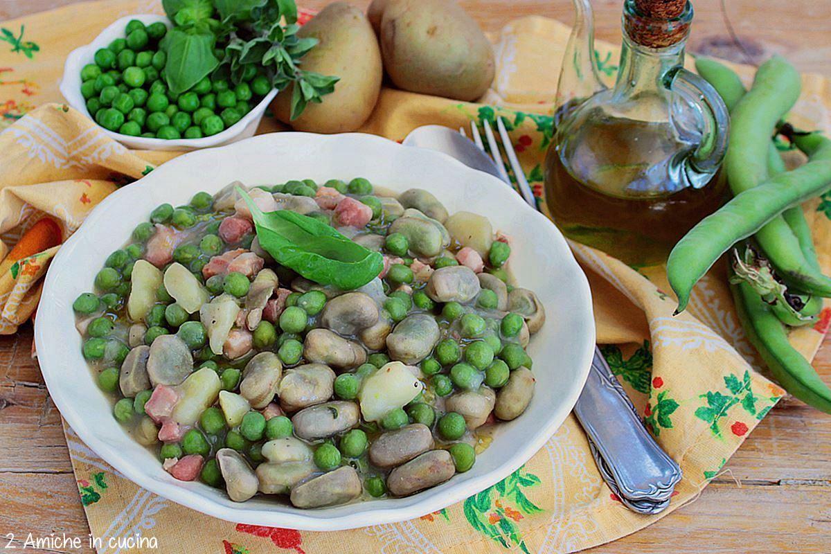 Zuppa di San Prisco, la bubbetella minestra con verdure di primavera