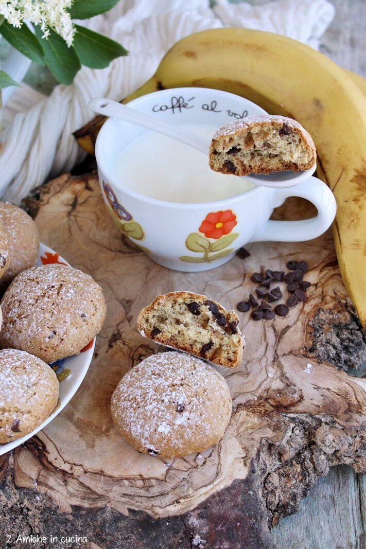 Biscotti con gocce di cioccolato ricetta senza uova