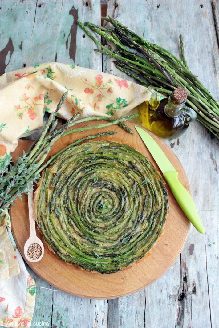 Frittata vegan agli asparagi