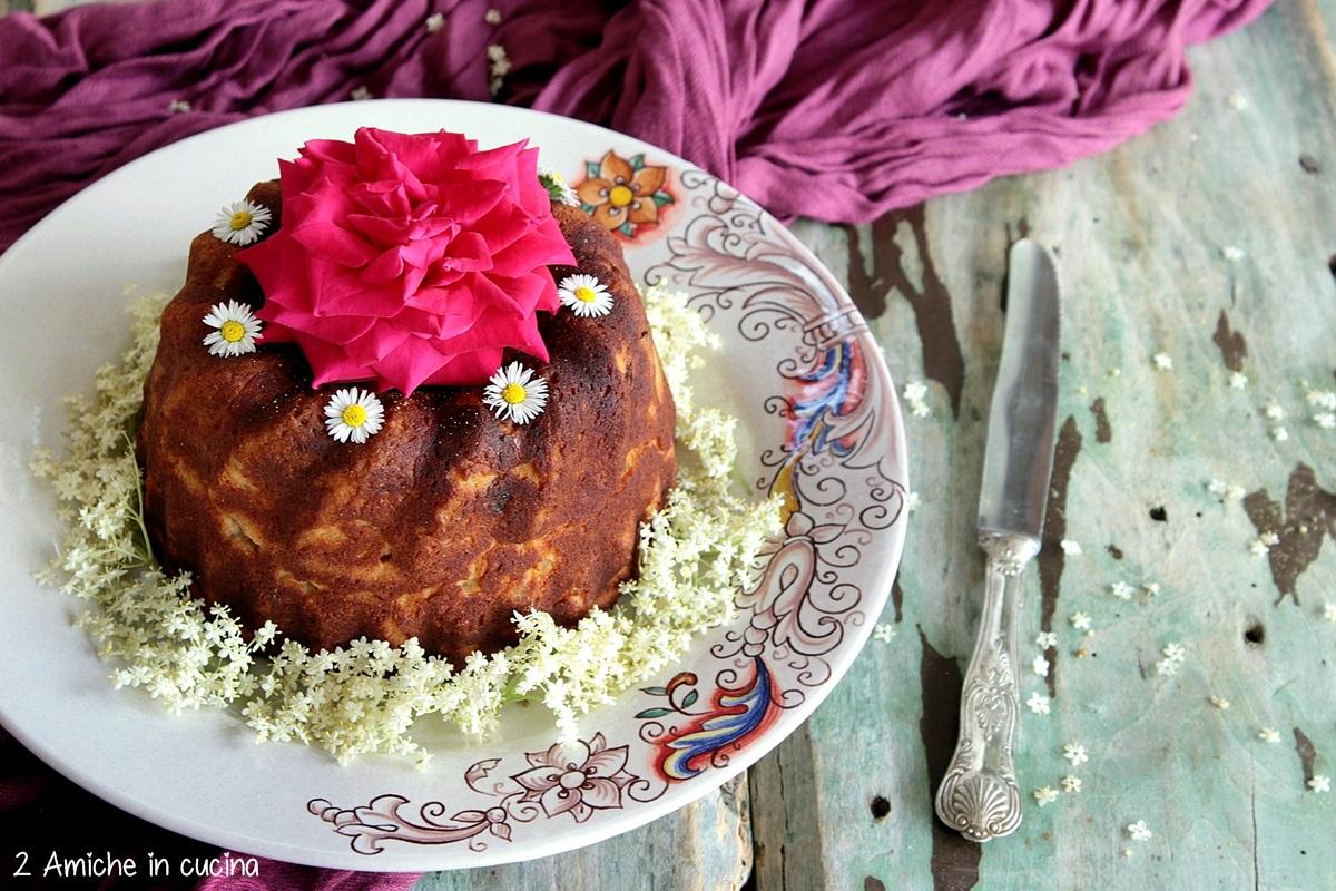 Torta mandorle in fiore ricetta senza glutine