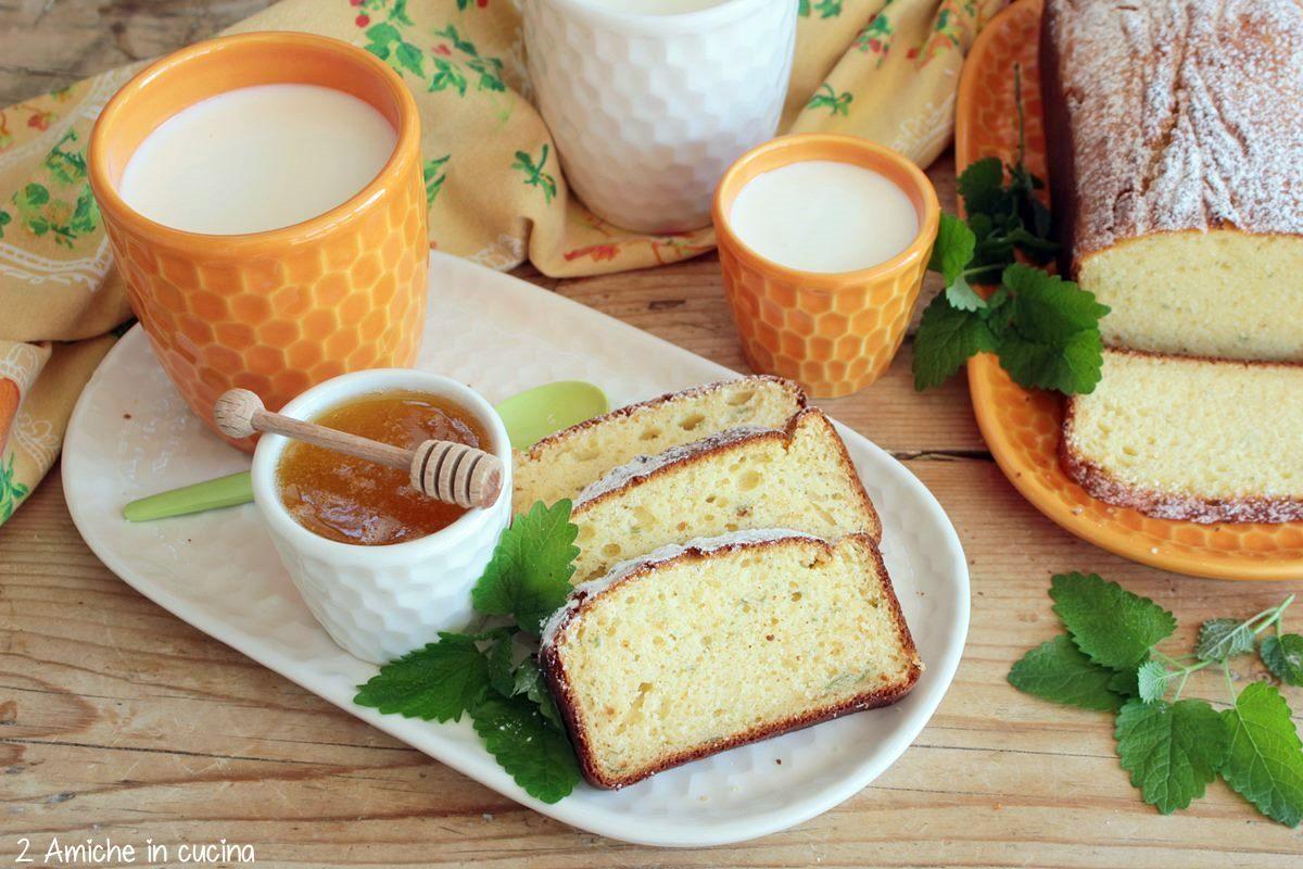 dolce soffice al miele e melissa